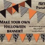 Halloween Banner, Free Halloween Printable, Printable Halloween   Free Printable Halloween Party Decorations