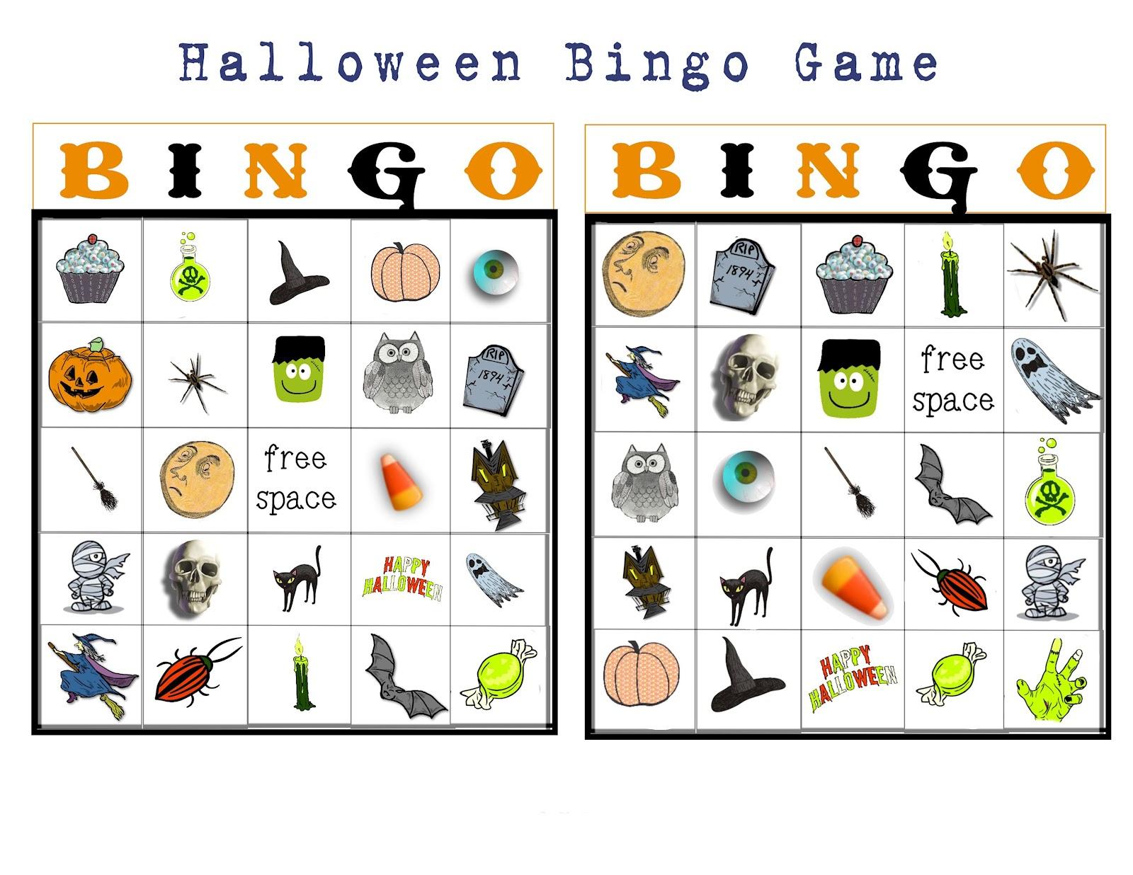 Halloween Bingo Printable Free Printable Halloween Bingo 151249 - Free Printable Halloween Bingo