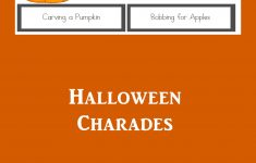 Free Printable Charades Cards