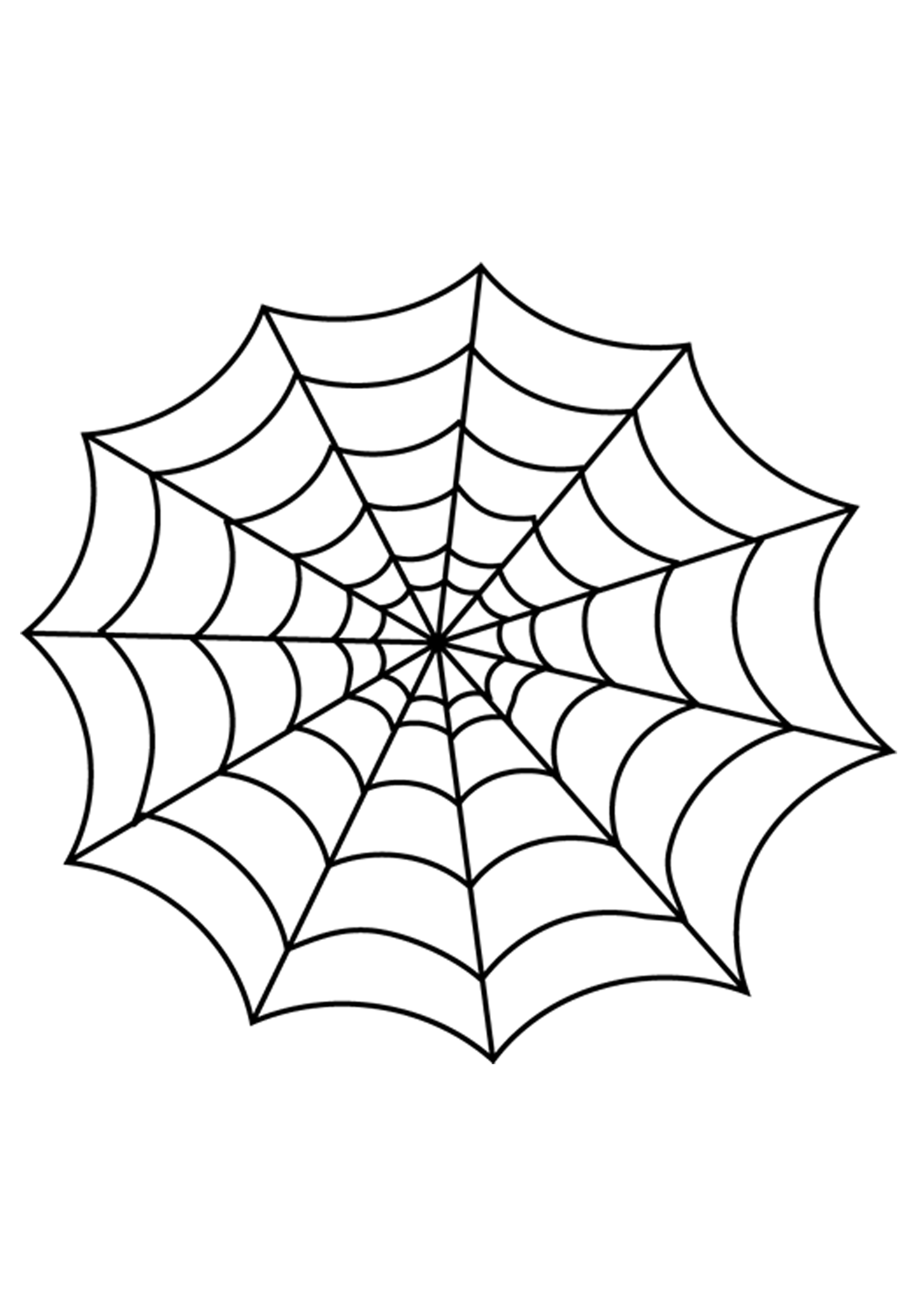 Halloween Spider Webs To Printable To | Clipart Crossword - Free Printable Spider Web