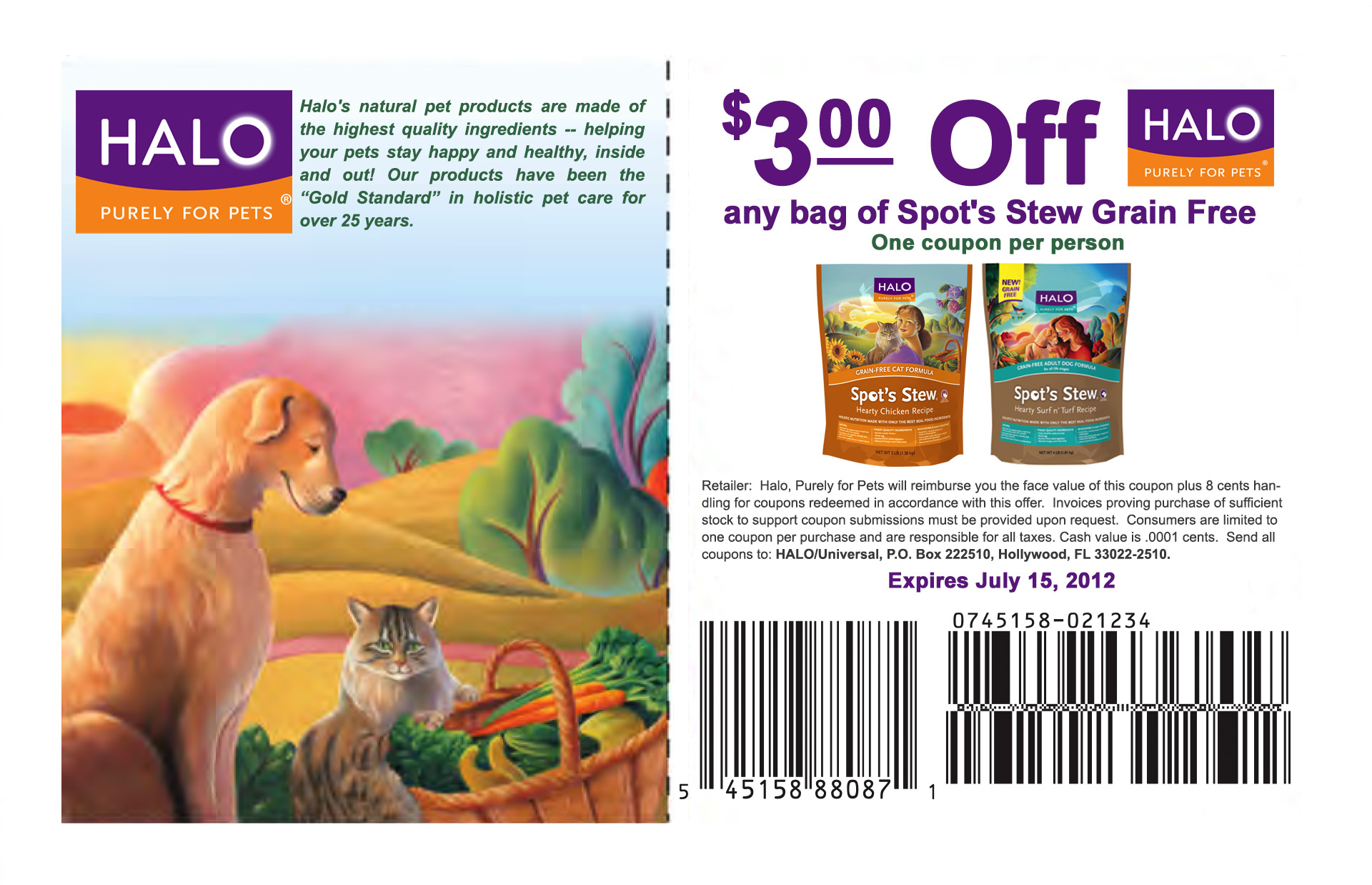 Halo Cat Food Coupons And Reviews | Cat Food Coupons - Free Printable Dog Food Coupons