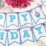 Happy Birthday Banner   Bugaboocity   Free Printable Happy Birthday Banner