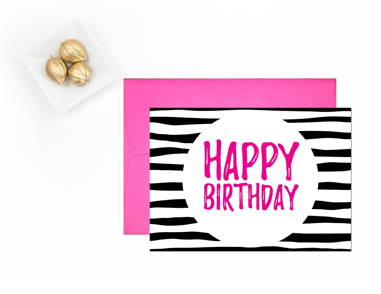 Happy Birthday | Free Printable Greeting Cards - Andree In Wonderland - Free Printable Bday Cards