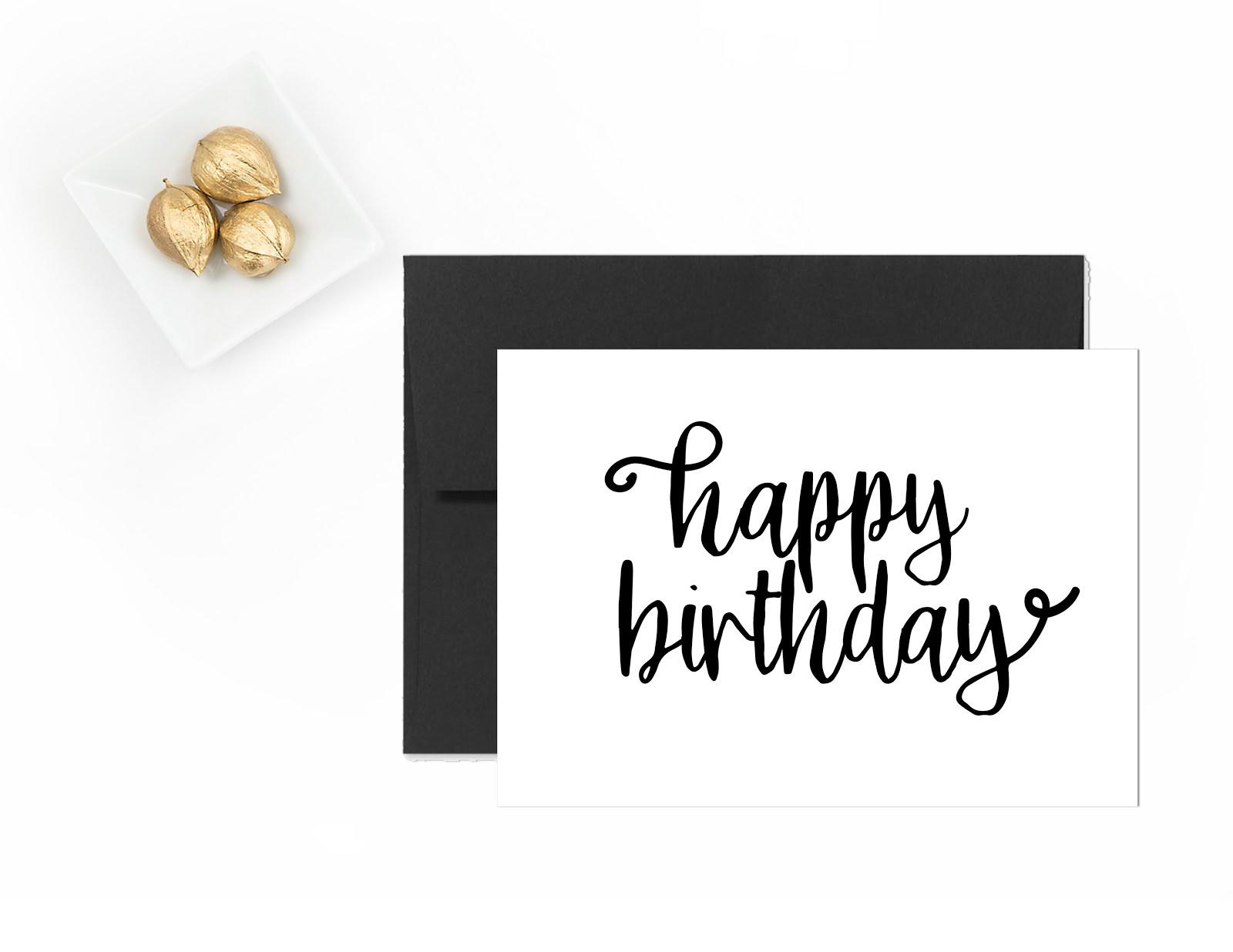 Happy Birthday | Free Printable Greeting Cards - Andree In Wonderland - Happy Birthday Free Printable