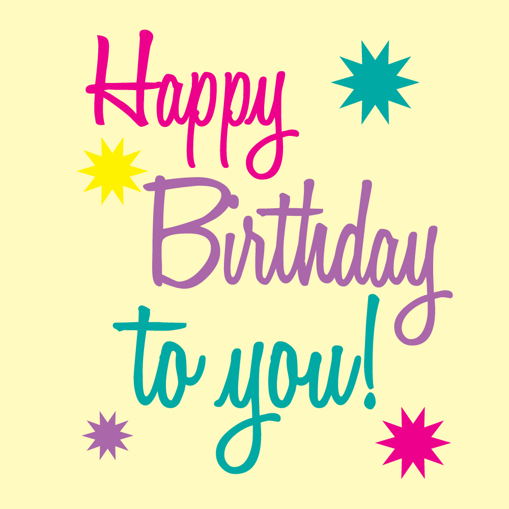 Happy Birthday Printable Art | Free Birthday Graphics Happy Birthday - Happy Birthday Free Printable