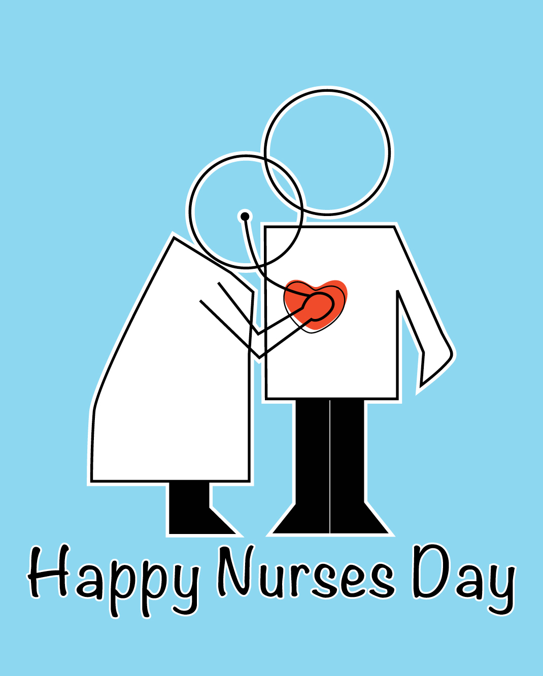 Happy Nurses Day   Pugsleyprints - Nurses Day Cards Free Printable