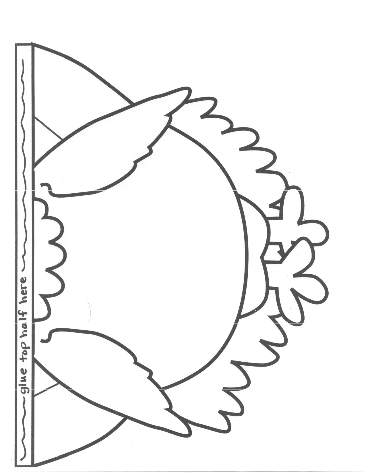 Happy Turkey Outline Printable Free Patterns Revolutionary Feather - Free Printable Thanksgiving Turkey Template