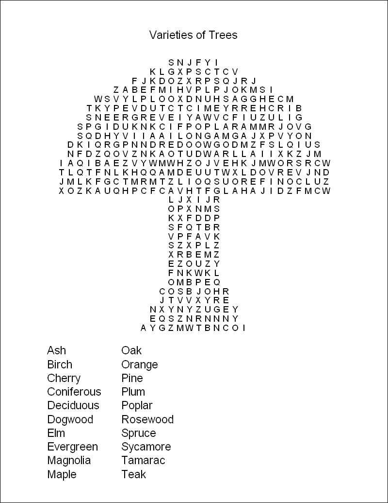 Hard Printable Word Searches For Adults   Free Printable Word Search - Free Printable Puzzles For Kids