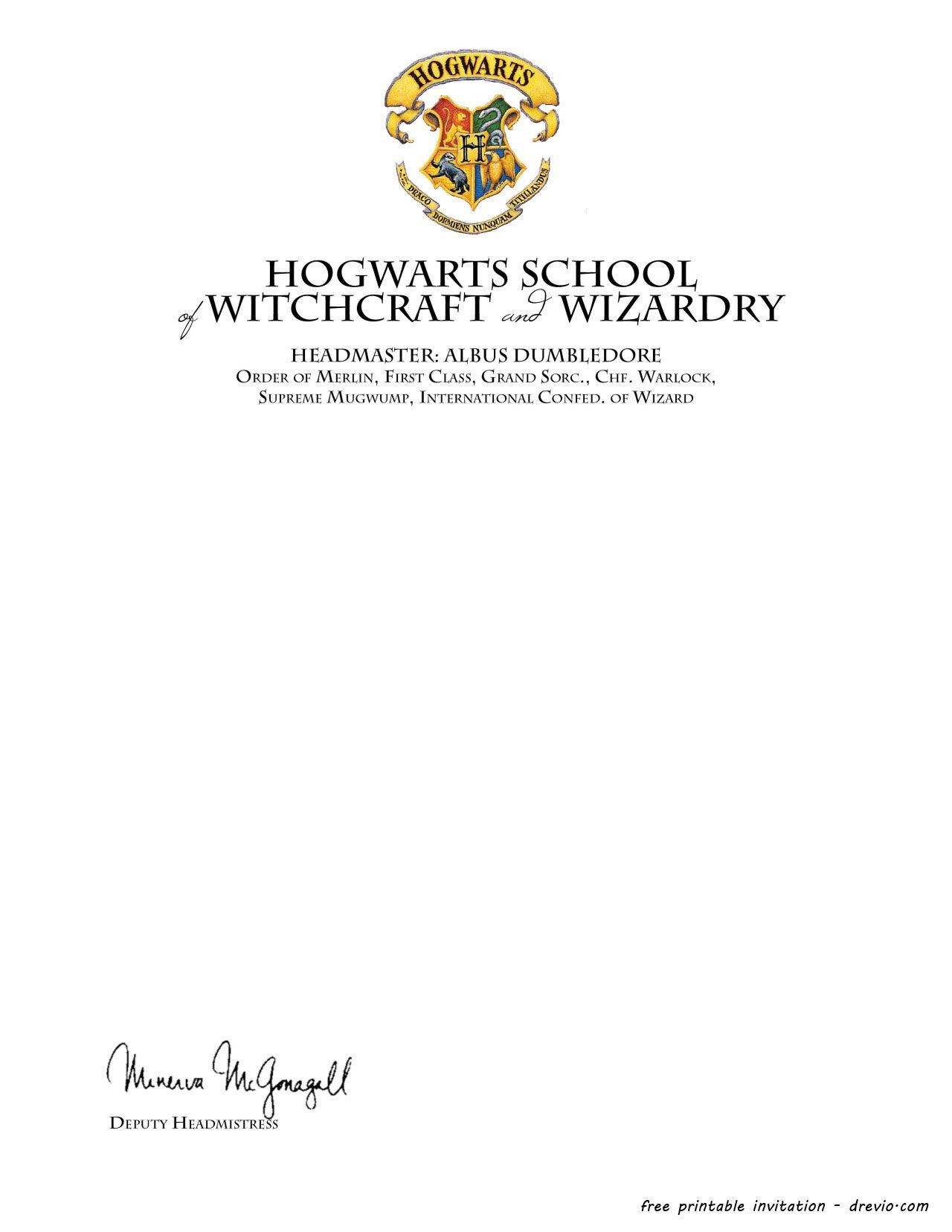 Harry Potter Birthday Invitations Printable - | Hosting A Harry - Harry Potter Birthday Invitations Free Printable