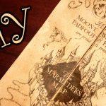 Harry Potter Marauder's Map   Diy   Youtube   Free Printable Marauders Map