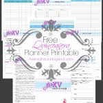 Helmighaus: Planning A Quinceañera Party   Party Planning Printable   Free Quinceanera Planner Printable