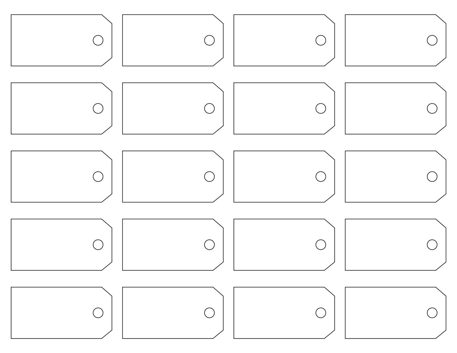 Here Are Some Great Free Address Label Templates That Everyone Would - Free Printable Price Labels