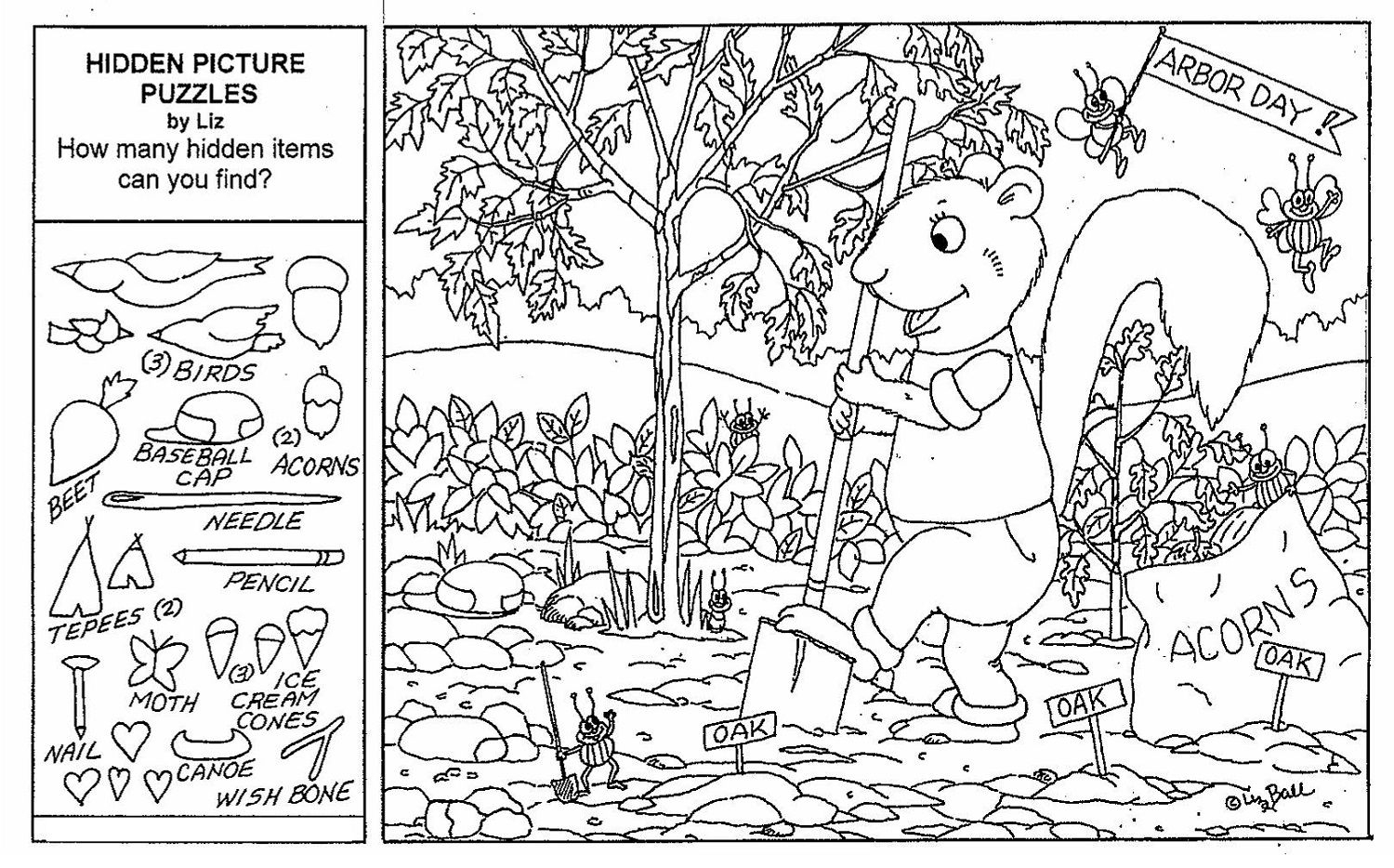 Hidden Objects Worksheets - Briefencounters Worksheet Template Samples - Free Printable Hidden Pictures For Adults