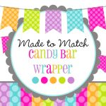 High 15 Inspirational Candy Bar Wrappers Template For Baby Shower   Free Printable Birthday Candy Bar Wrappers