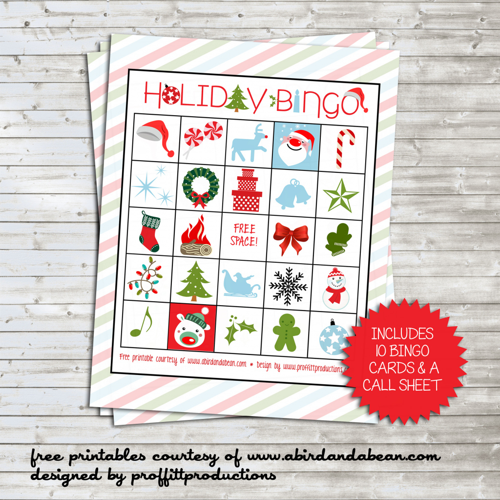 Holiday Bingo Set :: Free Printable | Printable Bingo Call Sheet - Free Printable Bingo Cards And Call Sheet