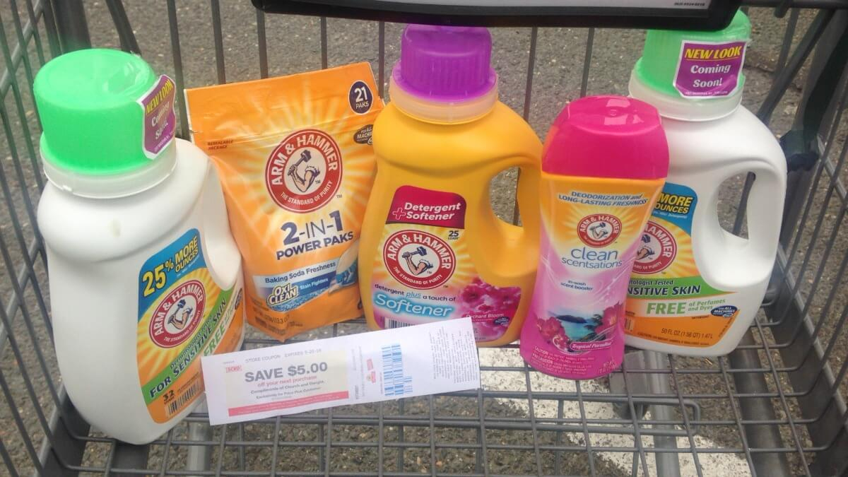 Hot! $5 In New Arm & Hammer Laundry Coupons - Over $5 Money Maker At - Free Printable Coupons For Arm And Hammer Laundry Detergent