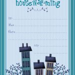 Housewarming Invite Template | Tanveer | Pinterest | Housewarming   Free Printable Housewarming Invitations Cards