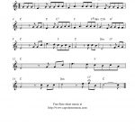 How Great Thou Art, Free Christian Flute Sheet Music Notes   Free Printable Flute Music