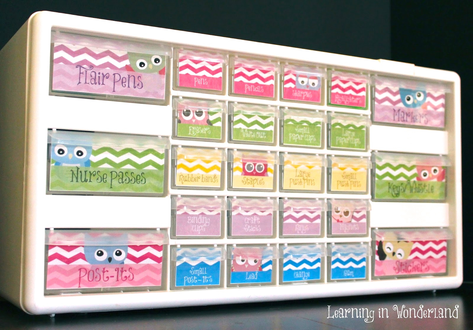 How To Make A Teacher Toolbox | Learning In Wonderland - Free Printable Teacher Toolbox Labels