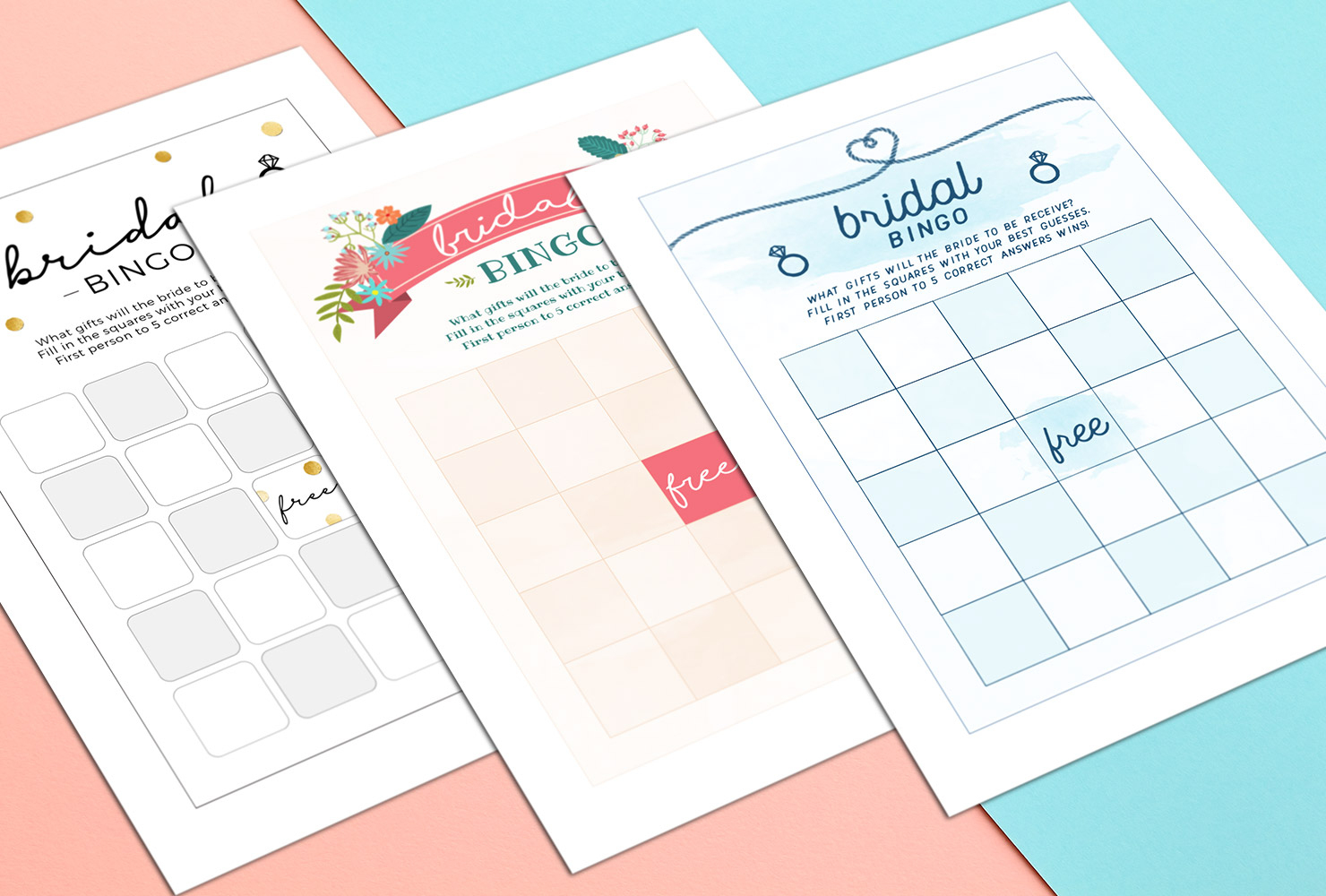 How To Play Bridal Shower Bingo (With Printables) | Shutterfly - Free Printable Bridal Shower Bingo