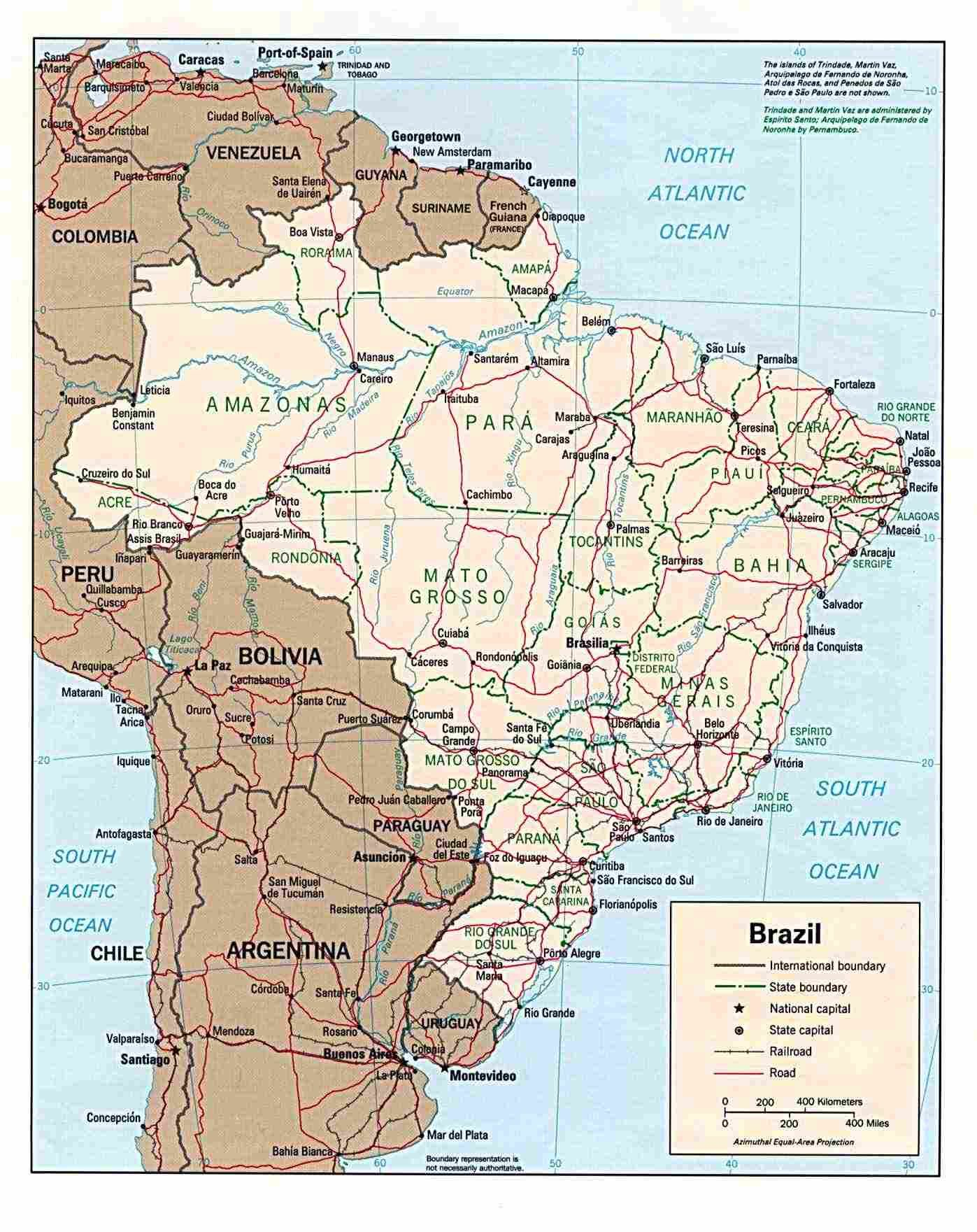 Http://www.brazil-Help/brazil-Map | Mapas | Pinterest | Brazil - Free Printable Map Of Brazil