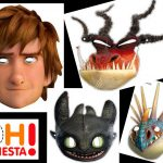 Httyd 2: Free Printable Masks. | Oh My Fiesta! In English – Dragon Mask Printable Free