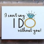 I Can T Say I Do Without You Free Printable | Free Printable   I Can T Say I Do Without You Free Printable