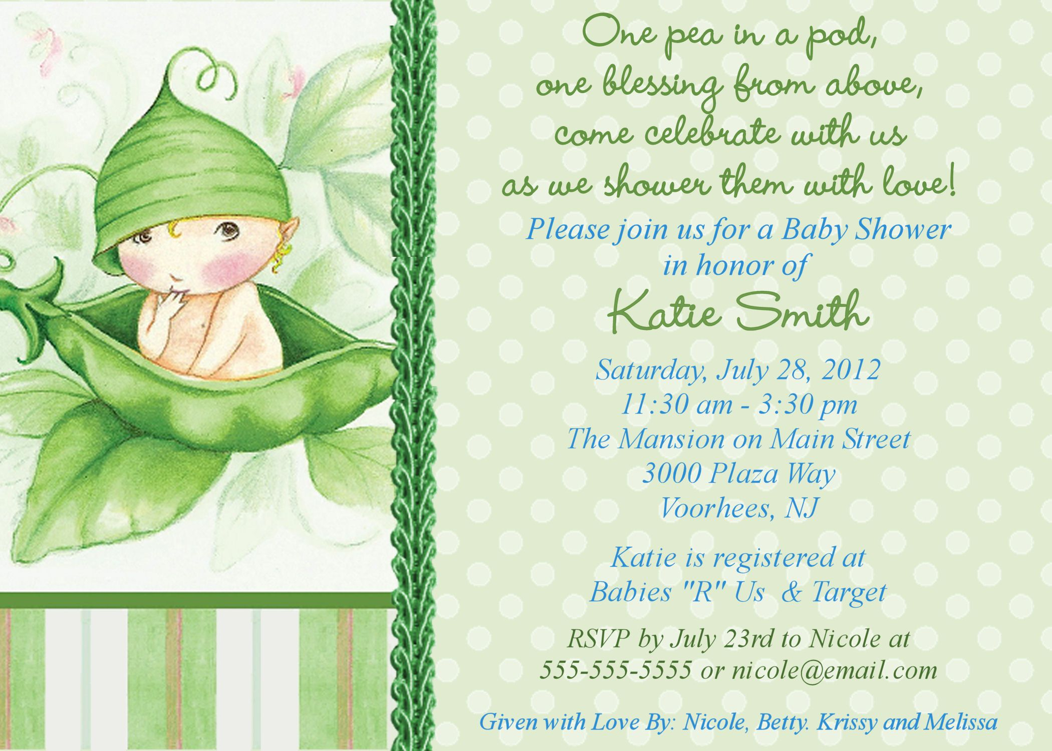 Image For Baby Shower Invitations Online Free Printable - Baby Shower Cards Online Free Printable