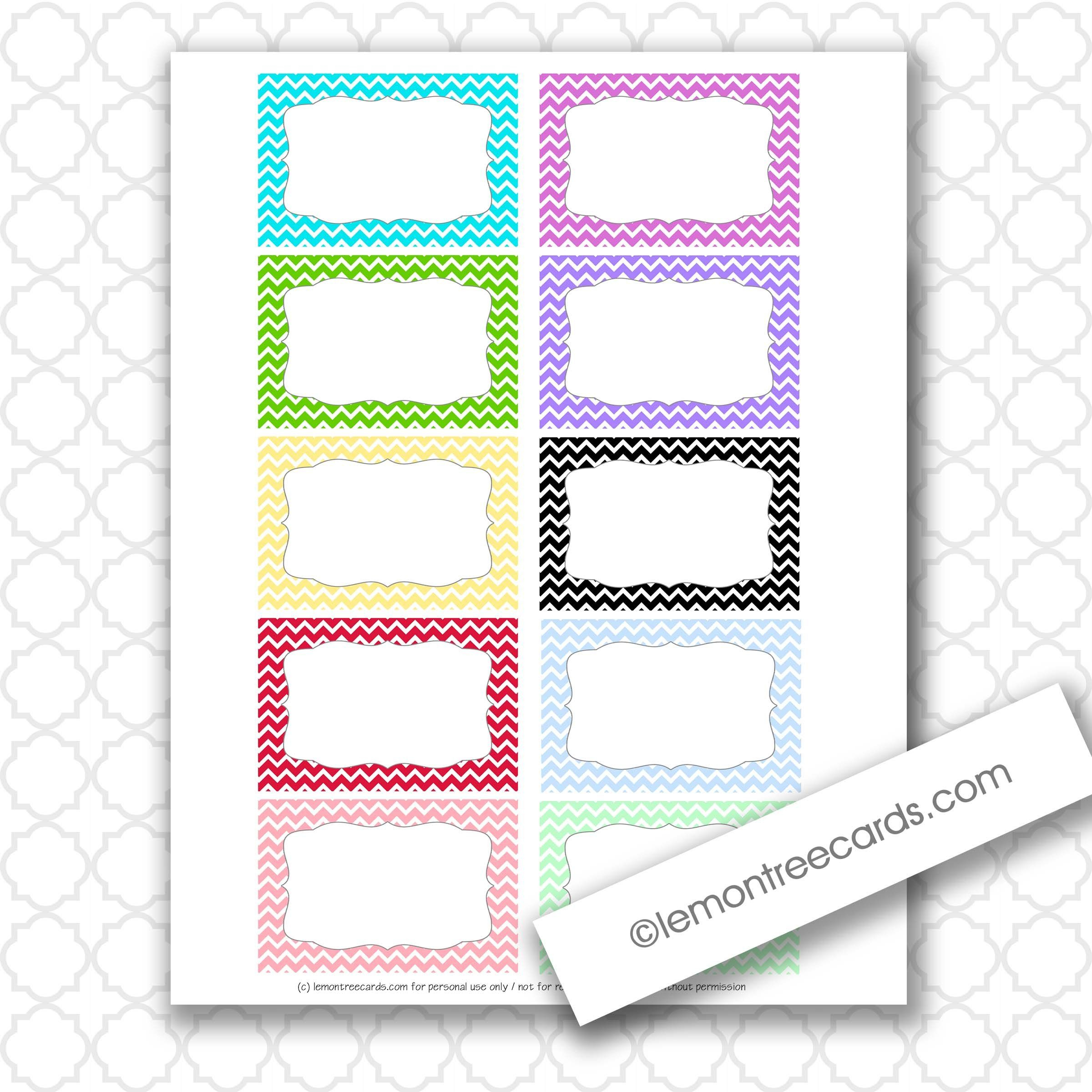 Image Result For Cute Free Index Card Template | Organization - Free Printable Blank Index Cards