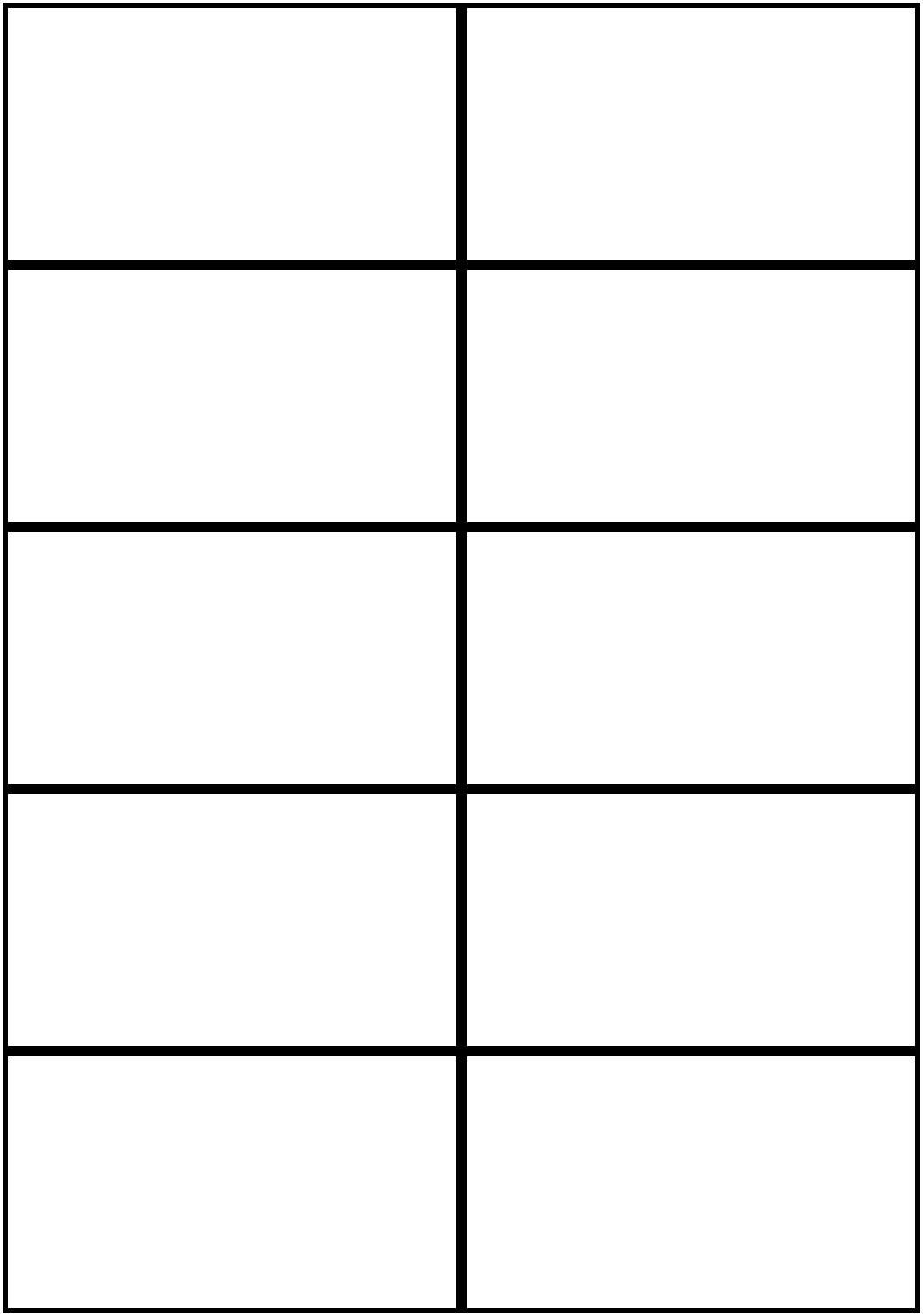Image Result For Flashcards Template Word | Worksheets | Free - Free Printable Blank Business Cards