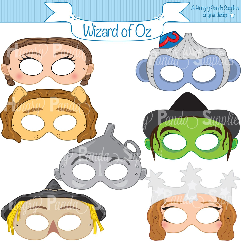 Image Result For Flying Monkeys Images | Oz | Monkey Mask, Wizard Of - Free Printable Wizard Of Oz Masks
