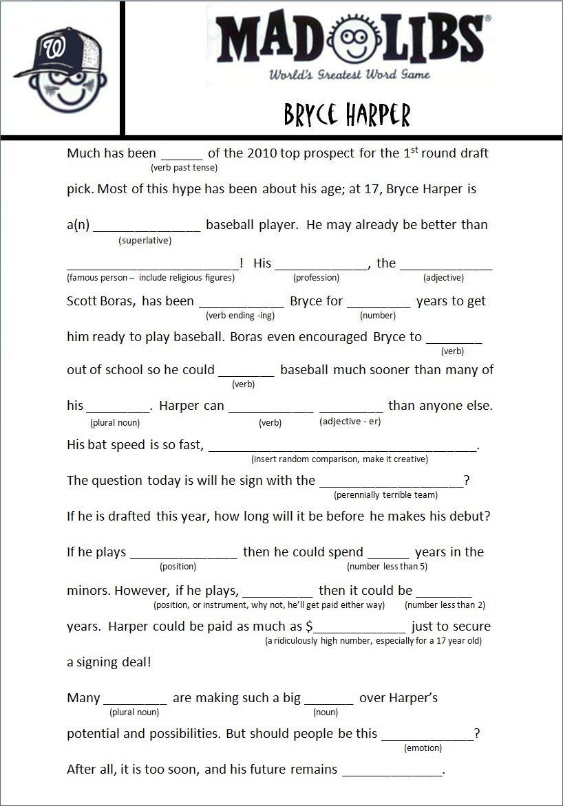 Image Result For Free Adult Mad Libs Funny   Job Related   Pinterest - Mad Libs Online Printable Free