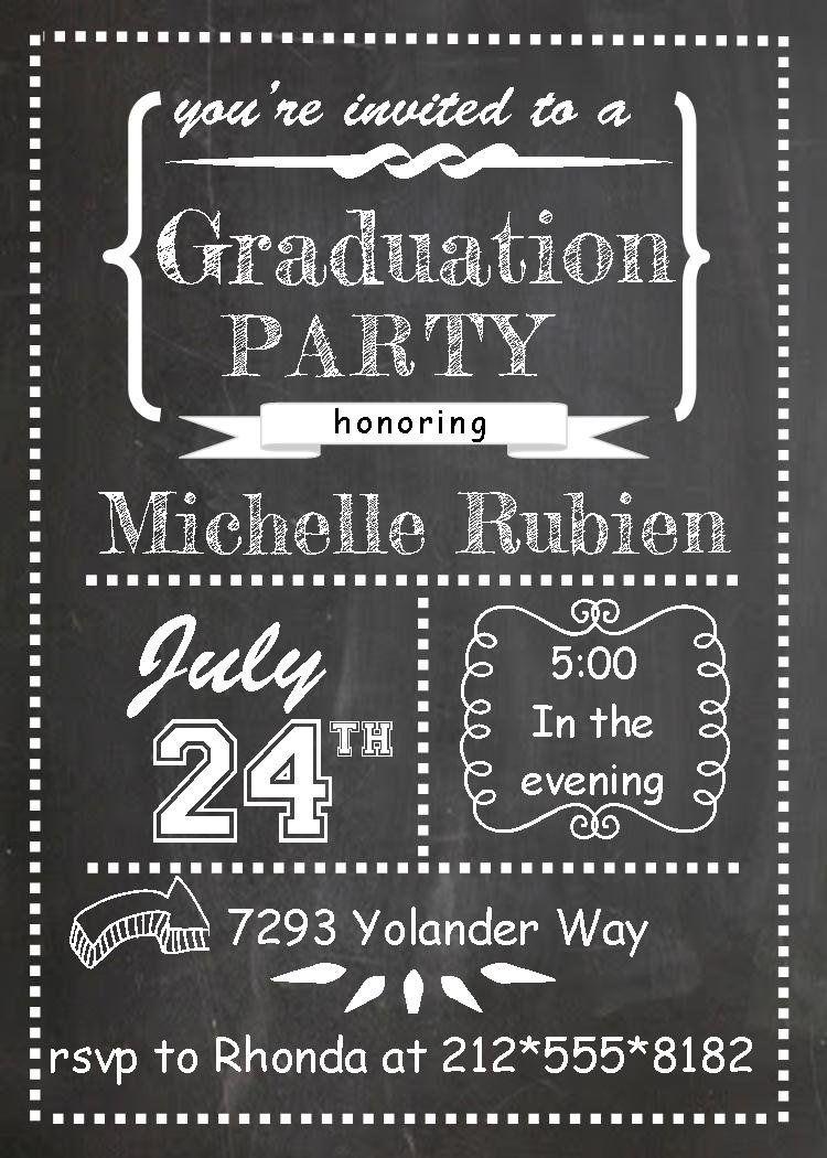 Image Result For Free Printable Graduation Invitations | College - Free Printable Graduation Party Invitations