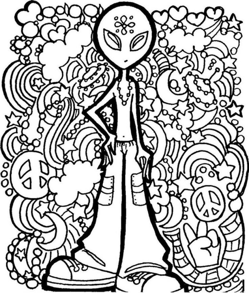 Image Result For Trippy Printable Coloring Pages   Camp Garbabge - Free Printable Trippy Coloring Pages