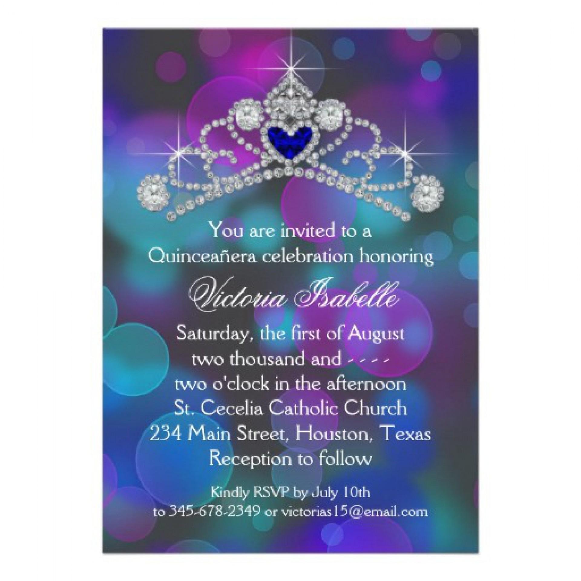 Incredible Free Quinceanera Invitation Templates ~ Ulyssesroom - Free Printable Quinceanera Invitations