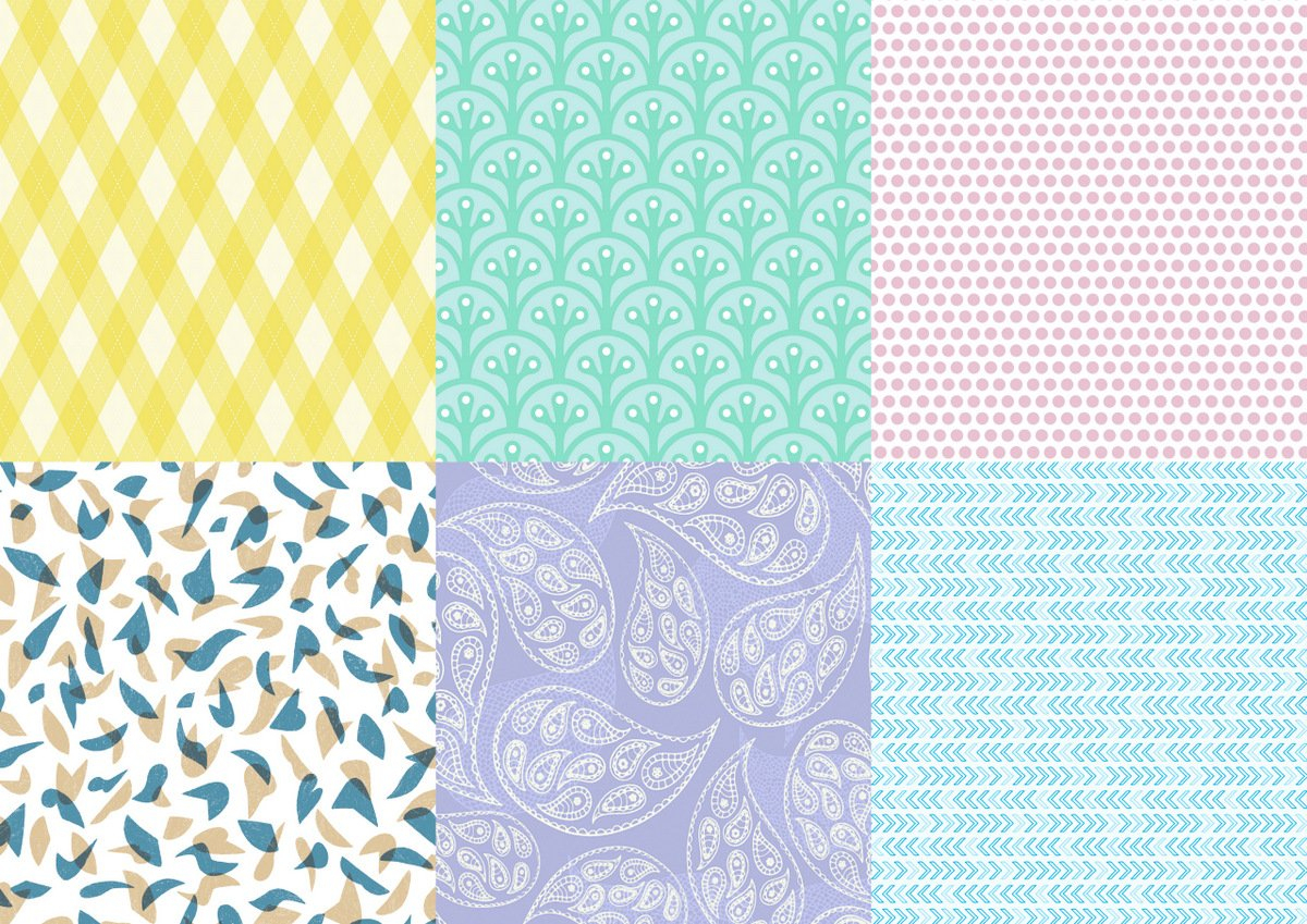 Instant Wrapping Paper: Free Downloadable Gift Wrap - Myria - Free Printable Wrapping Paper Patterns