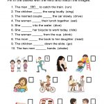 Irregular Past Tense Verbs Worksheet   All Esl   Free Printable Past Tense Verbs Worksheets