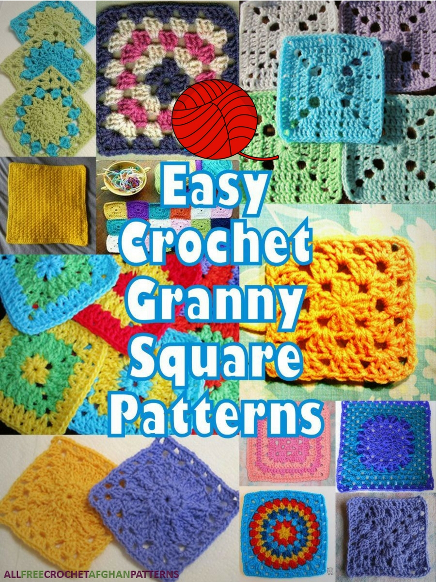 It's So Easy! 46 Easy Crochet Granny Square Patterns - Stitch And Unwind - Free Printable Crochet Granny Square Patterns