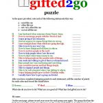 Jaye Martin Ministries Blog: Gifted2Go Puzzle   Free Printable Spiritual Gifts Test