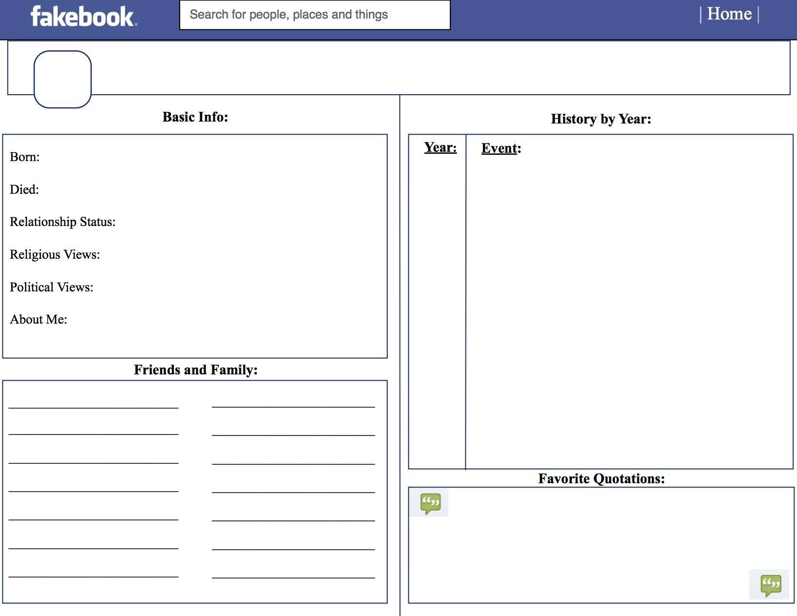 June 2018 – Zacet - Free Printable Facebook Template