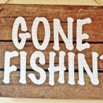 Kara's Party Ideas Gone Fishin' Fisherman Boy Birthday Party In Free   Free Printable Gone Fishing Sign