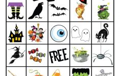 Free Printable Halloween Bingo