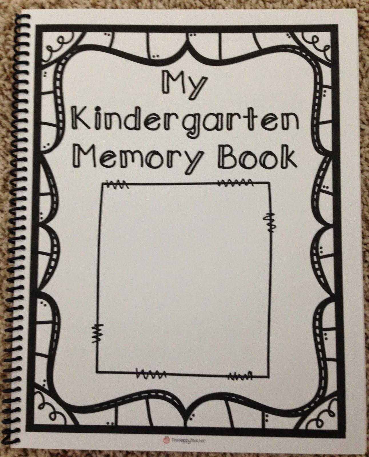 Kindergarten Memory Book   Kindergartenklub   Pinterest - Free Printable Preschool Memory Book