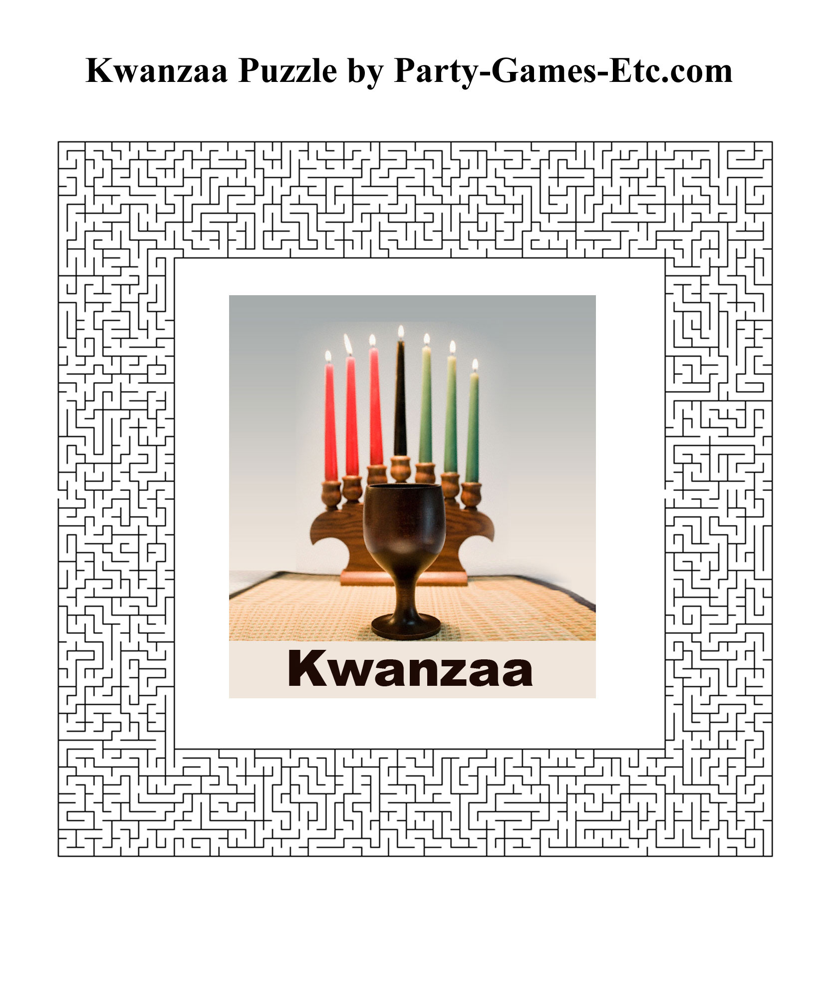 Kwanzaa Party Games, Free Printable Games And Activities For A - Kwanzaa Trivia Free Printable
