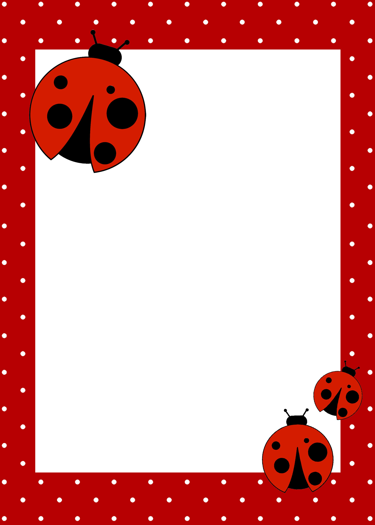 Ladybug Birthday Party With Free Printables - How To Nest For Less™ - Free Printable Ladybug Baby Shower Invitations Templates