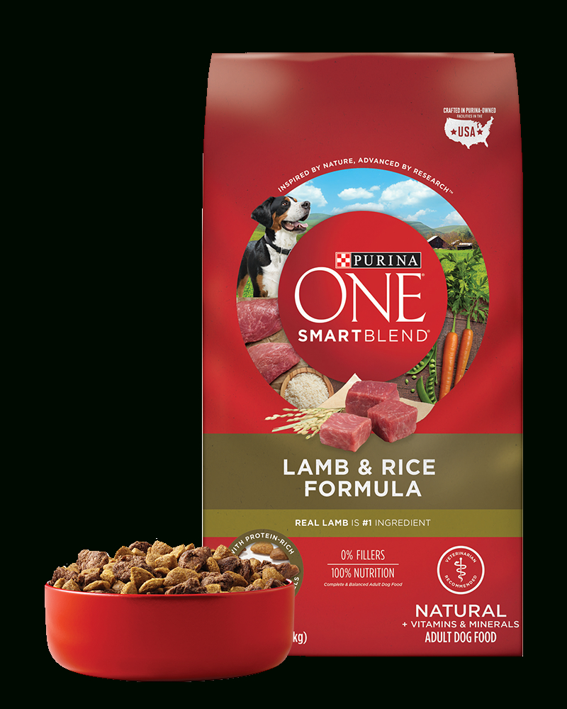Lamb & Rice Natural Adult Dog Food | Purina One® - Free Printable Coupons For Purina One Dog Food