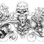 Large Free Printable Tattoo Designs | Best Quarter Sleeve Tattoo   Free Printable Tattoo Flash