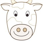 Large Printable Cow Decoration   Coolest Free Printables | Cow   Free Printable Paper Masks