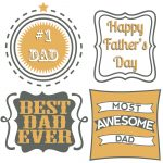 Last Minute Father's Day Printables | Superflash Creative   Free Printable Father's Day Labels