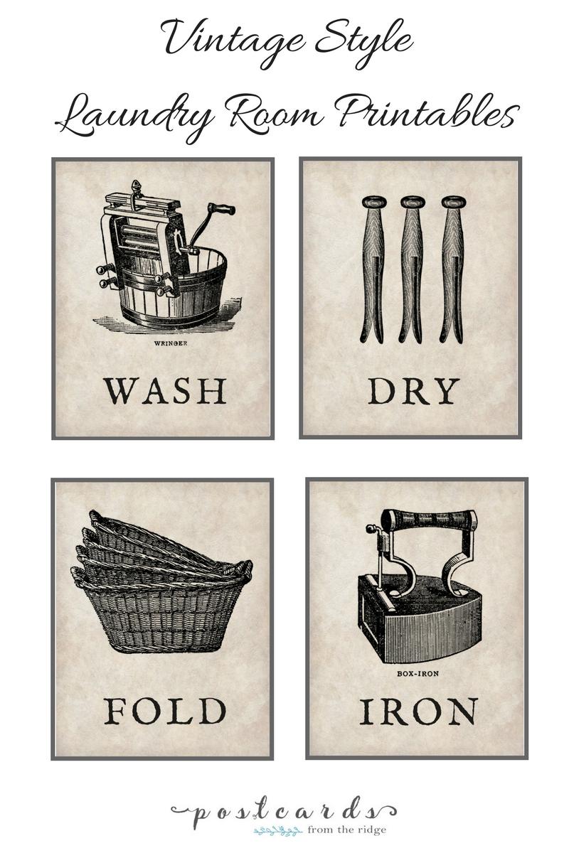 Laundry Room Makeover Progress Plus Free Printables | Printables - Free Printable Bedroom Door Signs